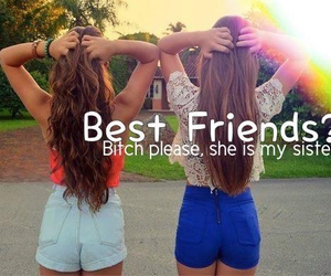 sisters, best friends, and girls image