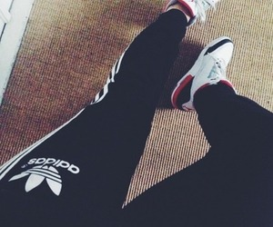 adidas and jordan image
