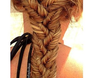 coiffure, fashion, and hair image