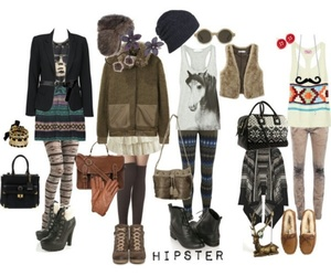 hipster and outfit image