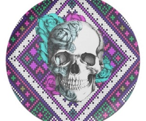 skull and tribal image