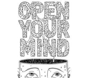free, mind, and open image