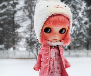 blythe, coat, and hat image
