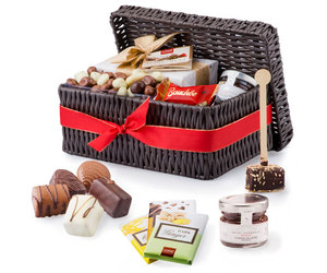 chocolate, chocolate gift, and gift basket ideas image