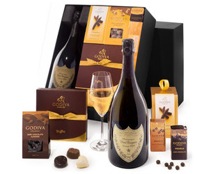 christmas wine, wine delivery, and chocolates delievry image