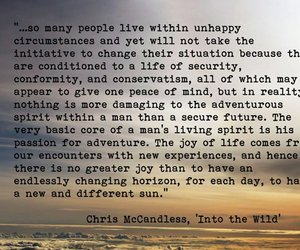 into the wild, quote, and life image
