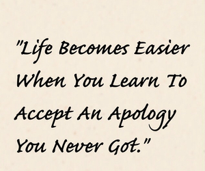 accept, quote, and apology image