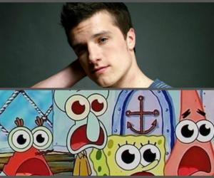 josh hutcherson, spongebob, and Hot image