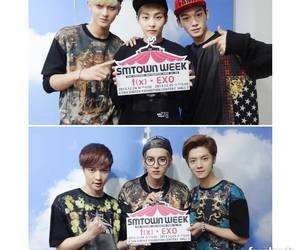 kpop, lay, and Chen image