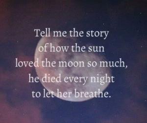 moon, love, and sun image