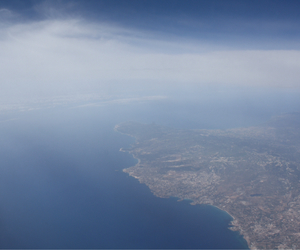 blue, cyprus, and plane image