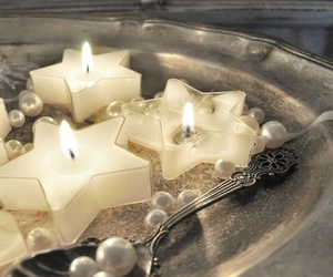 candle and stars image