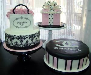 cake, chanel, and fashion image