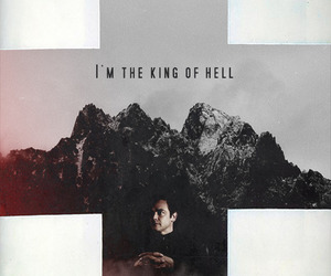 crowley and king of hell image
