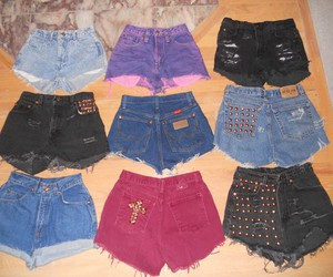 cut offs, distressed, and style image