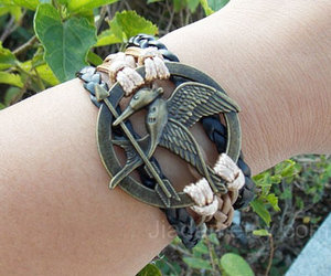 leather bracelet, braided bracelet, and hipster jewelry image