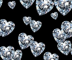 diamonds, forever, and heart image