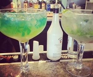 drink, alcohol, and malibu image