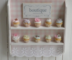 boutique, cupcakes, and kawaii image