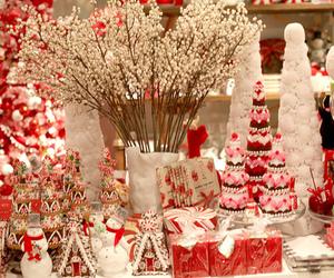 christmas, red, and snow image