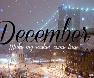 december, wish, and winter image