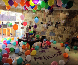 birthday, colors, and surprise image
