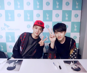 exo, Chen, and d.o image