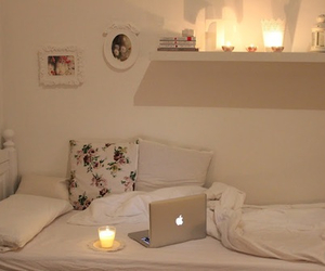 bedroom, room, and candle image