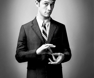 actor, black and white, and Joseph Gordon-Levitt image