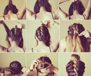 coiffure, style, and cabello image