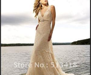 vestido and tono champan image