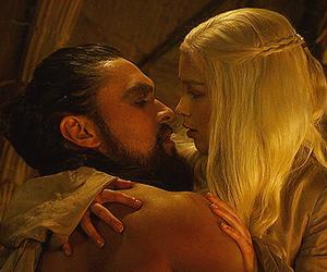 got, daenerys, and love image