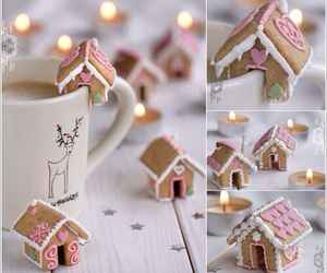 cup, cute, and gingerbread image
