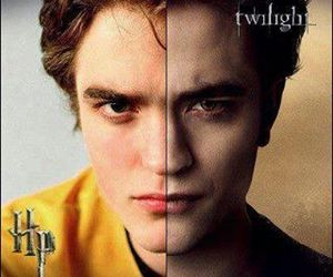 cedric diggory, edward cullen, and harry potter image
