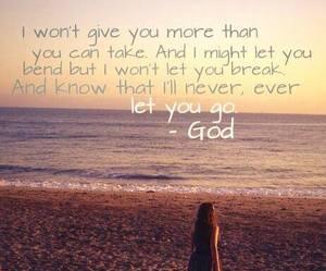 faith, god, and secure image