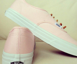 romantic, shoes, and vans sneakers image