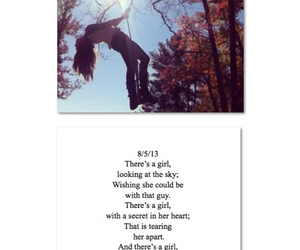 freedom, girl, and poem image