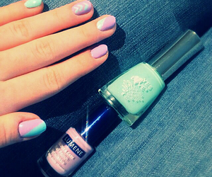 girly, mint, and turquoise image