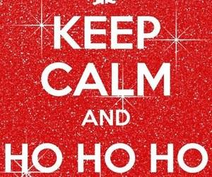 christmas, keep calm, and santa image