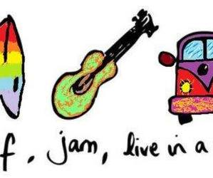 surf, jam, and van image