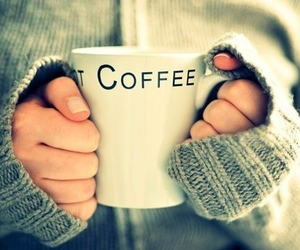 coffee, winter, and sweater image