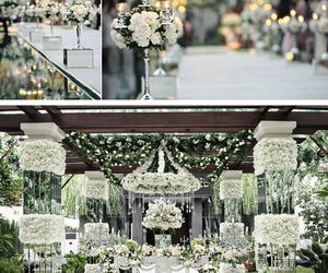 decoration and wedding image