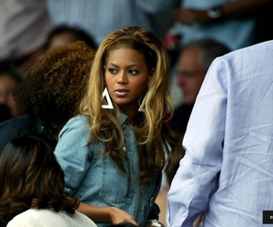 beyonce knowles, wimbledon, and beauty. image