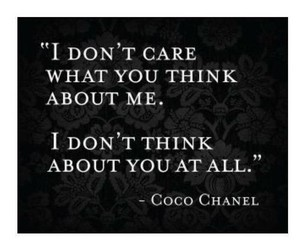 quote, coco chanel, and chanel image