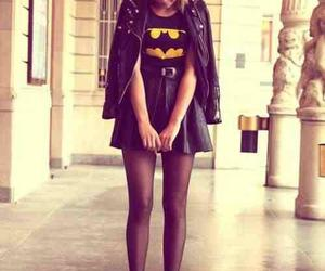 batman, black, and outfit image