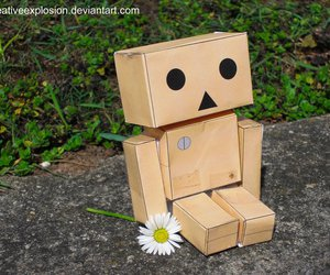 adorable, danbo, and flower image