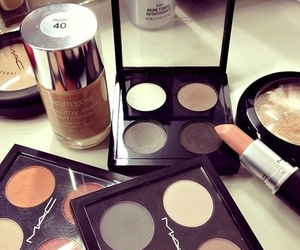 beauty, eye shadows, and mac image