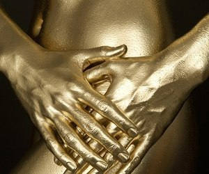 gold, body, and art image