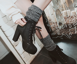 fashion, shoes, and kfashion image