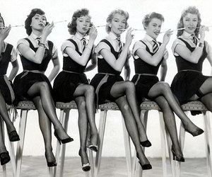 beautiful ladies and 50's? image